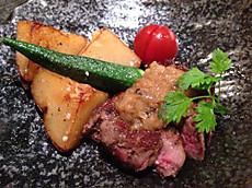 道産牛のシャリアピンステーキ