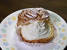 バニラシュークリーム