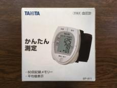 TANITA 血圧計